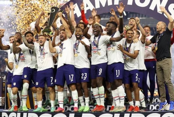 Picture for United States beats Mexico in Gold Cup final on late Miles Robinson header