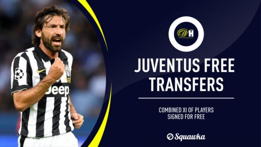 An Entire Juventus Xi Made Up Of Their Best Free Transfers This Century News Break