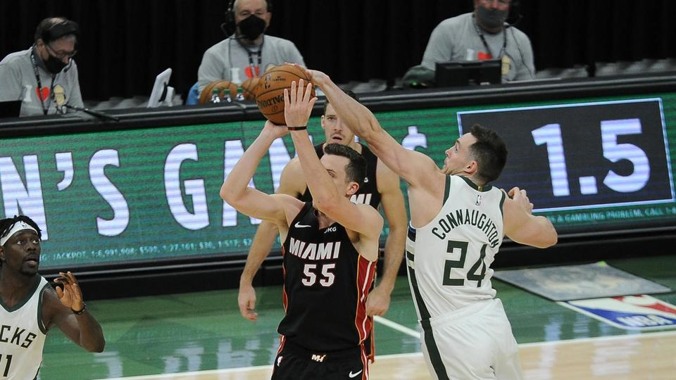 Picture for Podcast Creates a Break From Free Agency Talks for Miami Heat's Duncan Robinson