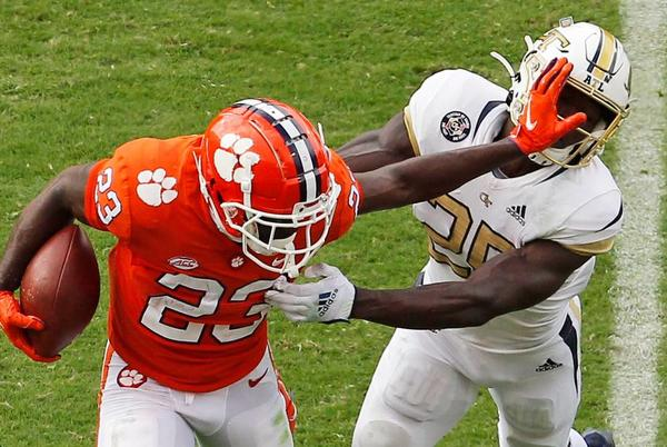 Picture for Clemson running back to transfer. Veteran defender to miss extended time with injury