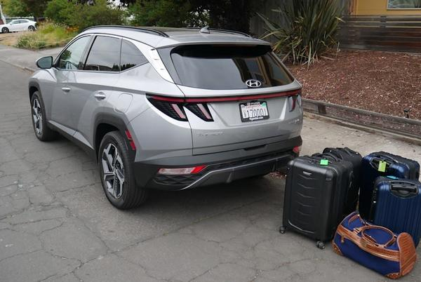 Picture for 2022 Hyundai Tucson Luggage Test | How much cargo space?