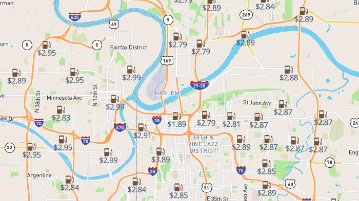 Picture for High-price warning: Most and least expensive gas in Kansas City as of Sunday