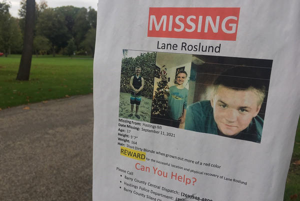 Picture for Missing teen found buried near accused killer's Hastings Township home
