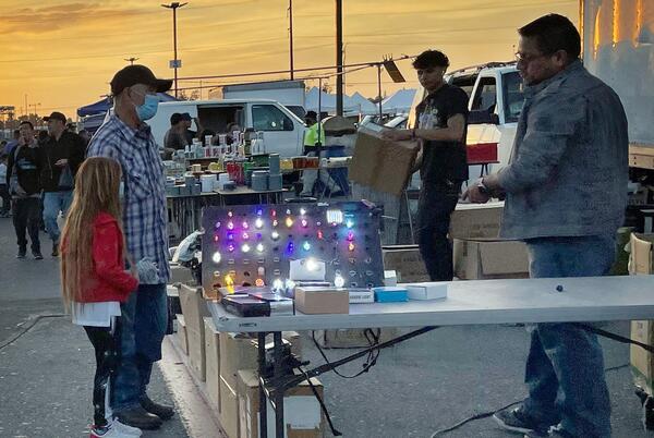 Picture for Popular swap meet in San Bernardino welcomes thousands on final night