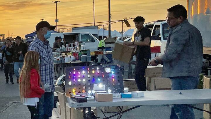 Cover for Popular swap meet in San Bernardino welcomes thousands on final night