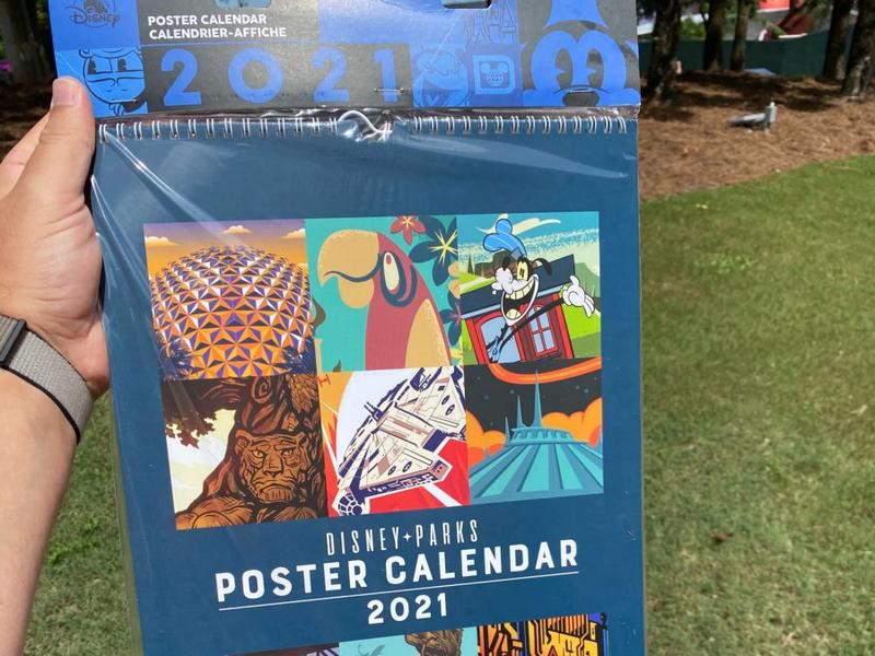 PHOTOS: New 2021 Disney Parks Attraction Poster Calendar Arrives