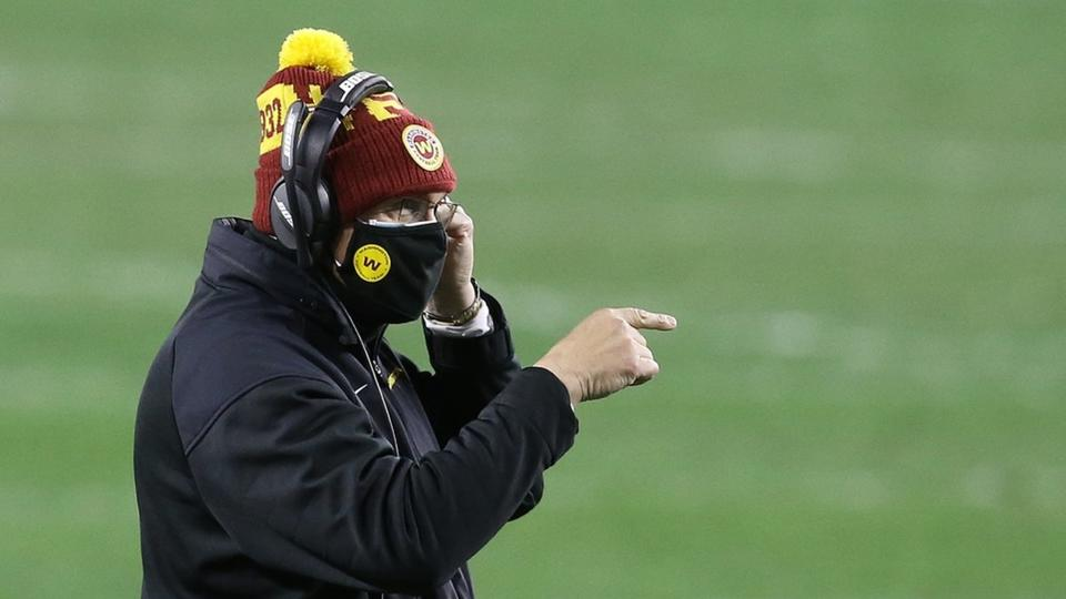 Picture for Ron Rivera: Washington Football Team Coach Inexplicably Rated 'Mediocre'
