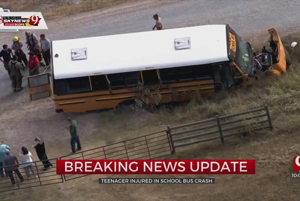 Picture for 13-Year-Old Student Injured In Crash Involving School Bus In Canadian County