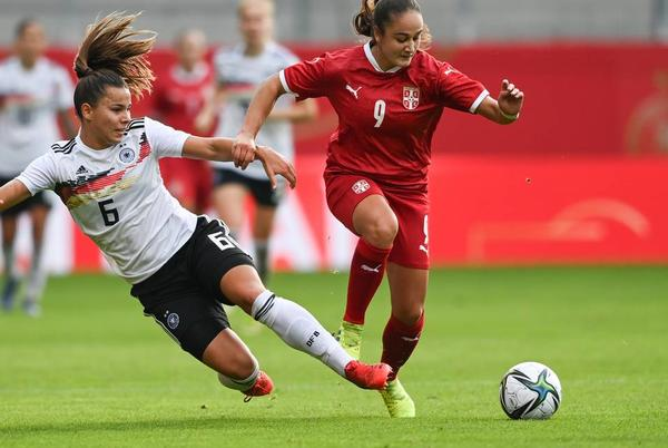 Picture for Women's Euro soccer prize money doubles but only 4% of men's