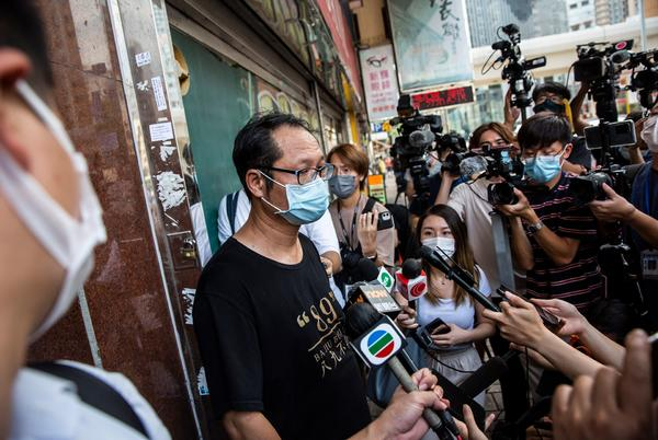 Picture for Hong Kong pro-democracy group closes after pressure by Beijing Democracy Alliance votes 41-4 to shut down