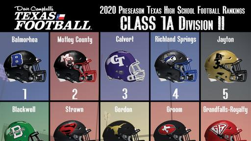 Exclusive Dave Campbell S Texas Football Associated Press Top 10 Preseason Rankings 1a Division Ii News Break