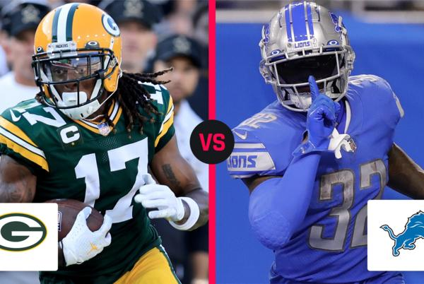 Picture for What time is the NFL game tonight? TV schedule, channel for Packers vs. Lions in Week 2