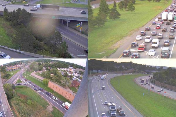 Picture for ODOT: Crash that caused backup on I-480 East now clear