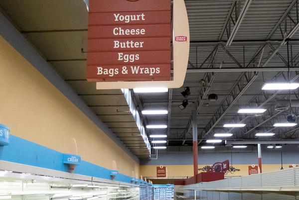 Picture for Empty Supermarkets to Become a Dangerous Problem in California