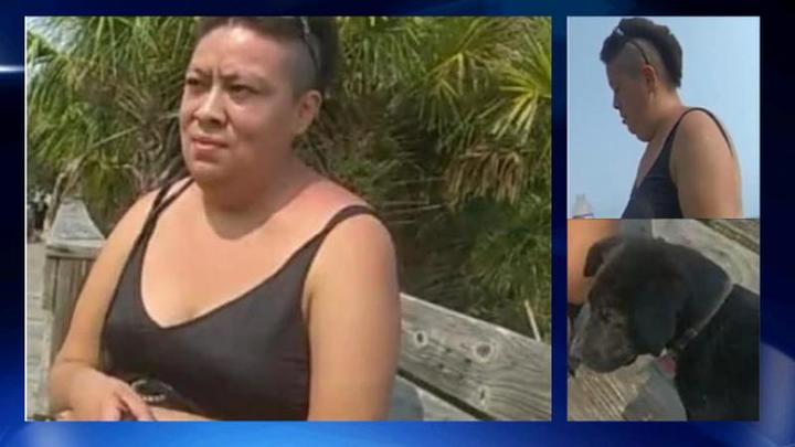 Cover for Georgia police searching for woman accused of throwing puppy into ocean