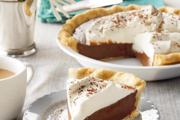 Picture for Dark Chocolate Cream Pie