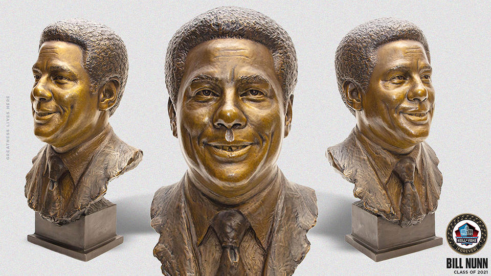 Picture for Pro Football Hall Of Fame Unveils Bill Nunn Bronzed Bust