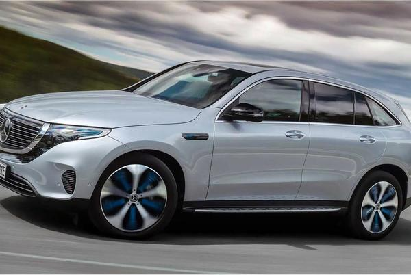 Picture for Next-Gen Mercedes EQC, C-Class EV Coming To US: Report