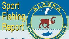 Cover for Alaska Department of Fish and Game Bi-Weekly Fishing Report For July 27, 2021