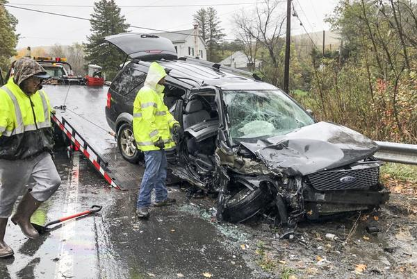 Picture for Five injured in crash in Coal Township
