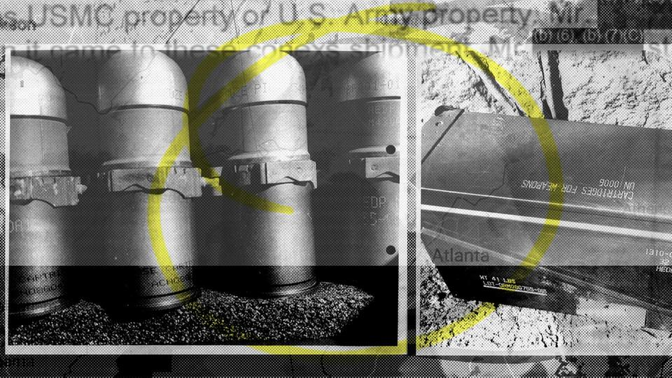 Picture for Military stumped by stolen box of armor-piercing grenades