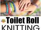 Picture for How to spool knit with a recycled toilet paper tube