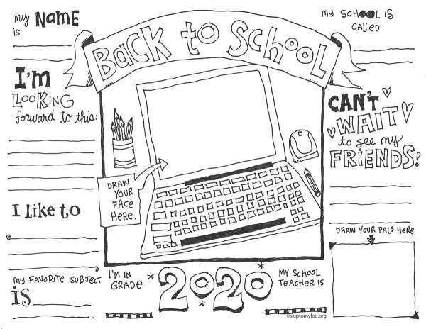 - First Day Of School Coloring Pages (with Virtual Options) News Break