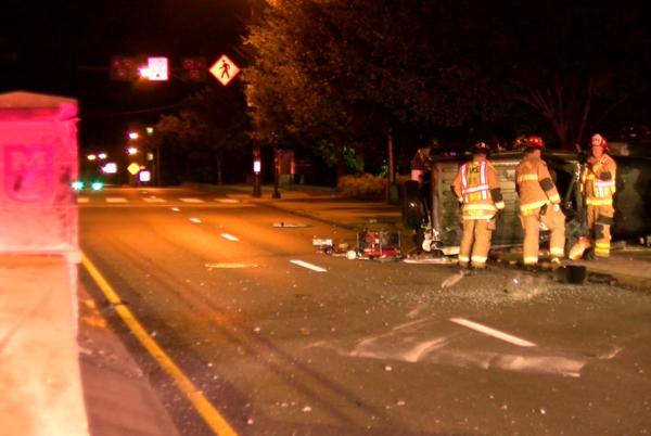 Picture for One person hospitalized following single vehicle crash in Columbia