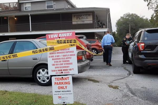 Picture for Police investigate after woman found unconscious outside Parkview Place apartments