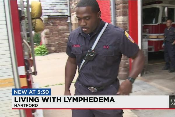 Picture for Local firefighter works to raise awareness about Lymphedema
