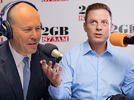 Picture for 'Why are you laughing?': Ben Fordham presses Josh Frydenberg