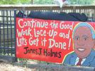Picture for Memorial for Chatham County Commissioner James Holmes held in Beasley Park