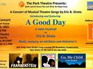 """Picture for """"A Good Day – A Concert of Musical Theatre Songs by Eric B. Sirota"""" To Take Place July 31st"""