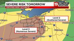 Cover for Storms with damaging winds, heavy rain, isolated tornado threat Friday in Northeast Ohio