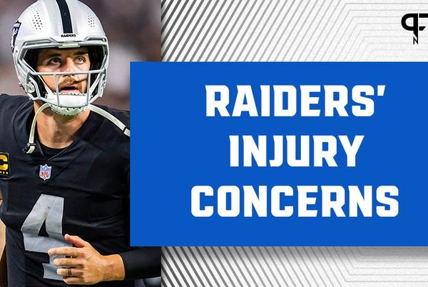 Picture for Derek Carr's 'questionable' status could open the door for the return of Nathan Peterman