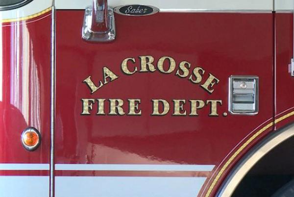 Picture for No injuries after overnight fire at La Crosse home