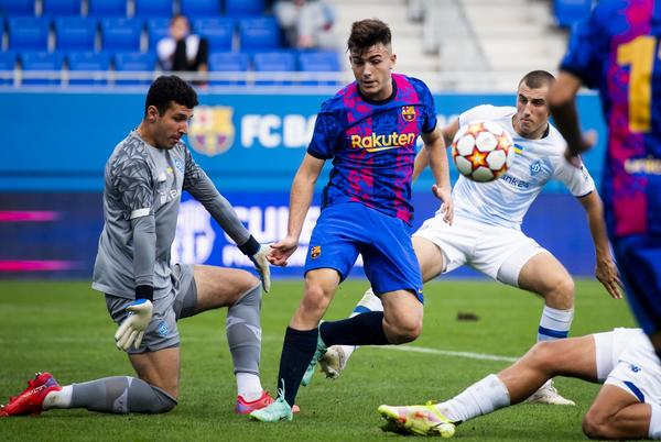 Picture for UEFA Youth League: FC Barcelona 0-0 Dynamo Kyiv