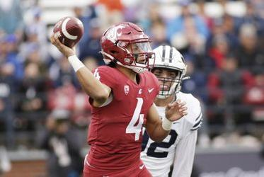 Picture for 'They'll fight for him': After firing of coach Nick Rolovich, WSU players rally around QB Jayden de Laura