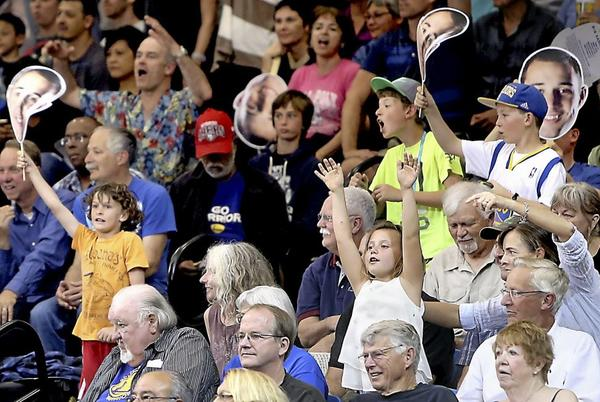 Picture for Coast Line   Time changed for Sunday's Santa Cruz Warriors Fan Fest