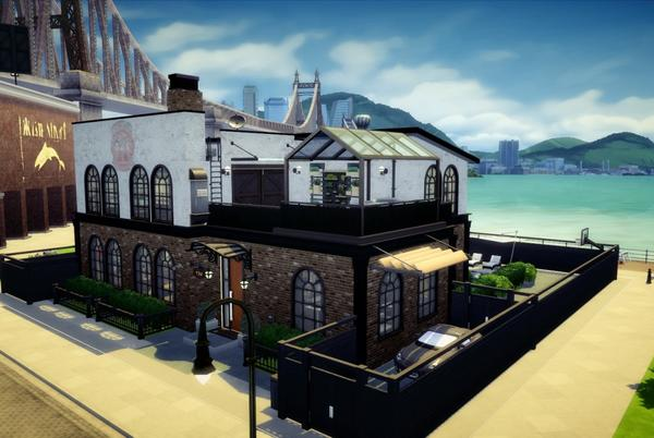 """Picture for Hello everybody! This is my first build in the sims 4 (renovation) of lot """""""