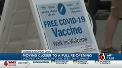 Cover for Vermonters react as state inches toward 80% vaccination goal