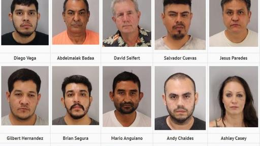 RCAHT Task Force Solicitation of Prostitution Sex-Trafficking Sweep Arrests 13