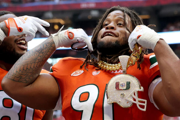 Picture for Miami legend rips Turnover Chain celebration after Hurricanes' rough start