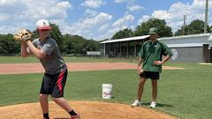 Cover for Fresh off a national title, Friesen working with new wave of Dale County pitchers