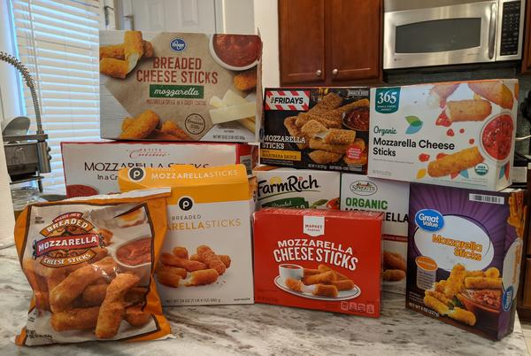Picture for We tasted 10 brands of frozen mozzarella sticks and our least favorite was from Trader Joe's