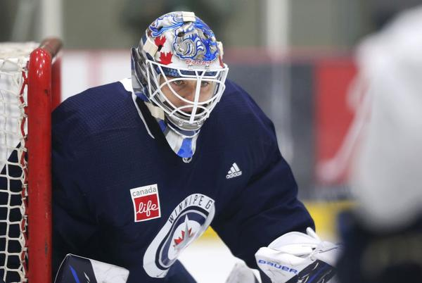 Picture for SNAPSHOTS: Jets goalie makes jump across pond after final season in Sweden