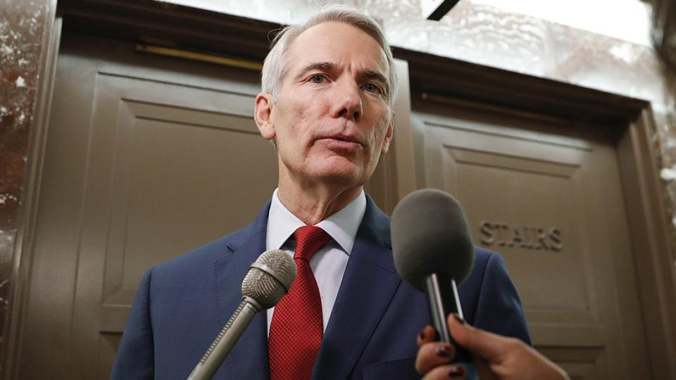 Picture for Portman says Senate Republicans are 'absolutely committed' to getting bipartisan infrastructure deal