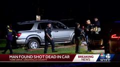Cover for Man found dead inside vehicle with at least one gunshot wound in Greenville, deputies say