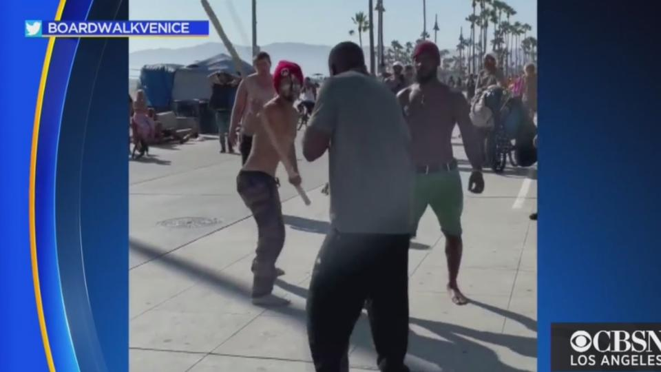 Picture for Caught On Video: Brawl On Venice Beach Boardwalk