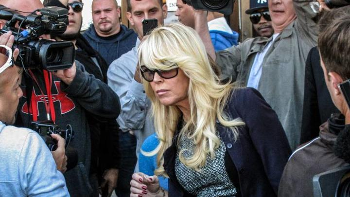 Cover for Lindsay Lohan's mom Dina pleads guilty to drunken driving